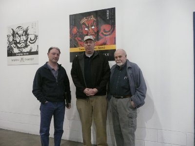 Left to Right: Will Auld, Greg Lorenz and Fred Eckhardt