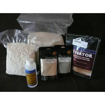 Full Ingredient Sake Kit — keep yeast, koji refrigerated